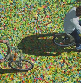 Stroll on bikes / Paseo en bici